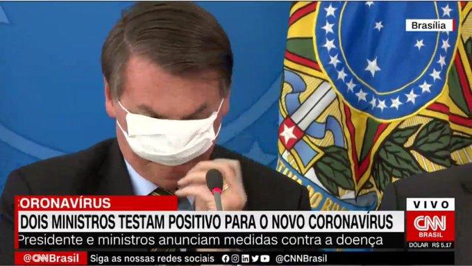 jair bolsonaro coronavírus Brasil