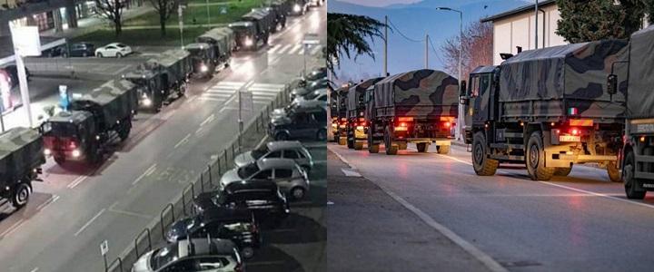 caminhões mortos itália