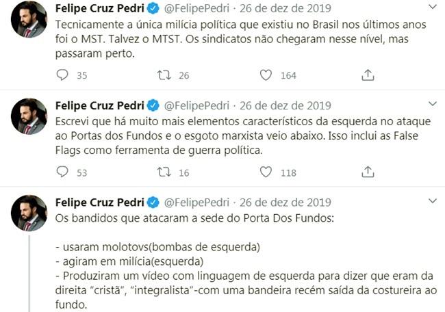 Coronavírus assessor de Bolsonaro ataca governadores conspiração comunista