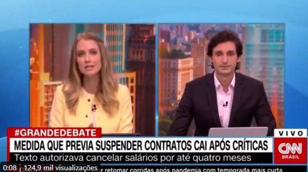 Gabriela Tomé Coronavírus CNN