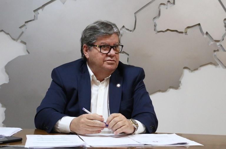 governador paraíba joão azevedo coronavírus