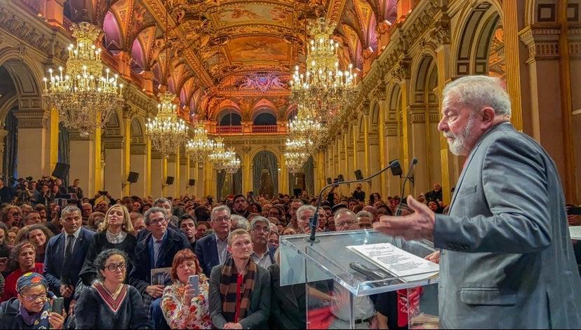Lula em Paris