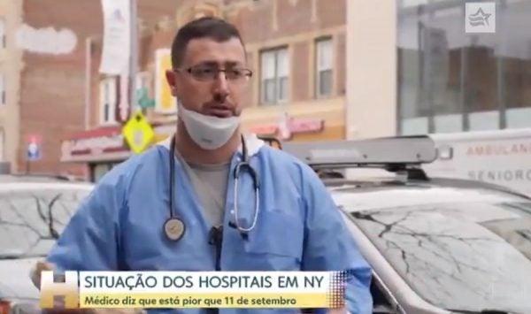 nova york hospitais coronavírus