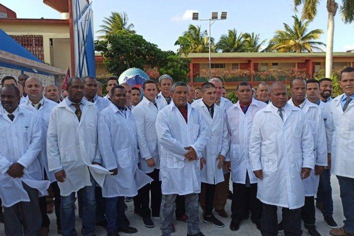 médicos cubanos coronavírus itália