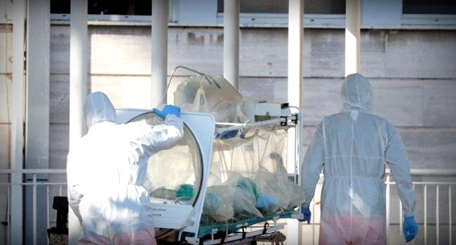 Morte coronavírus semelhante afogamento médico