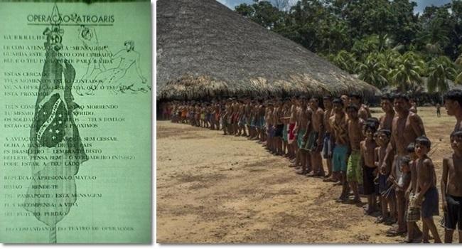 ambicioso plano brasileiro extinguiu índios waimiri atroari amazonas roraima