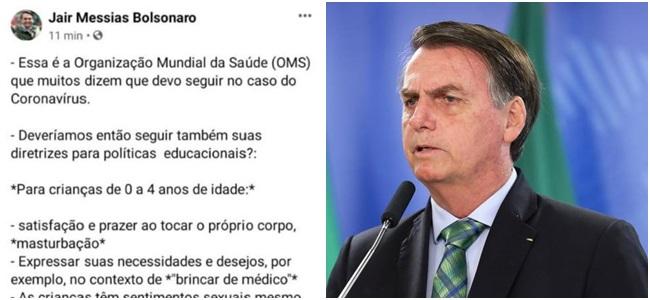 jair bolsonaro oms
