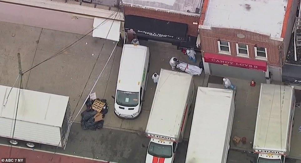 corpos caminhões nova york