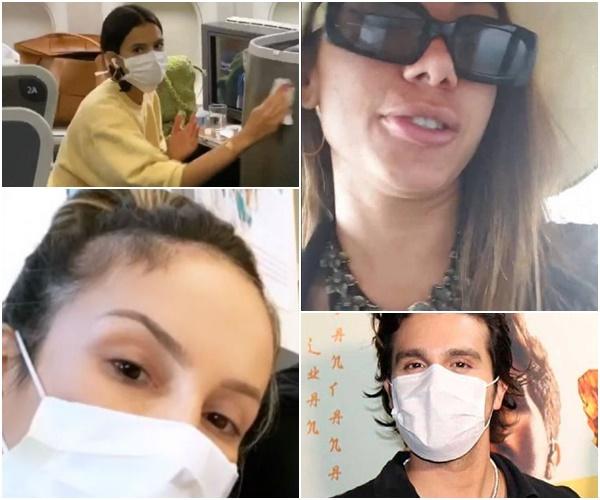 famosos coronavírus brasil