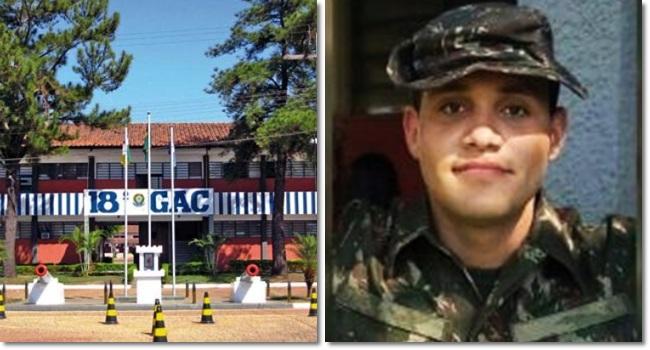 Jovem soldado morre treinamento do Exército 18º gac rondonópolis