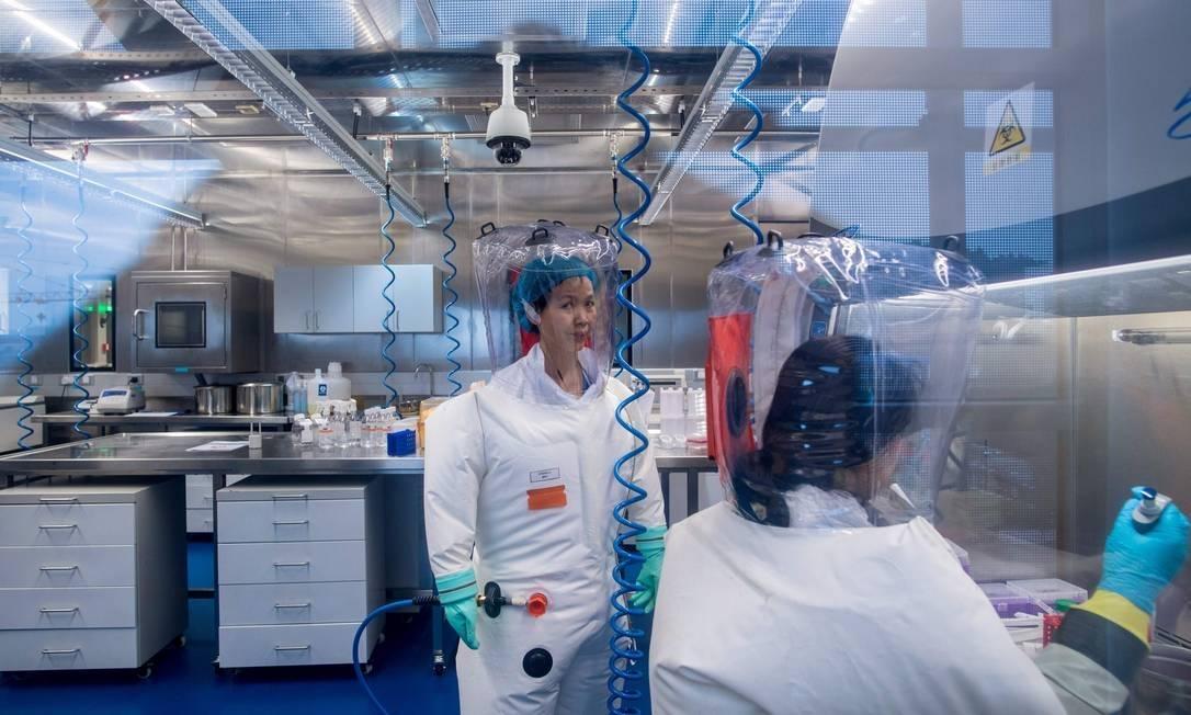 coronavírus laboratório