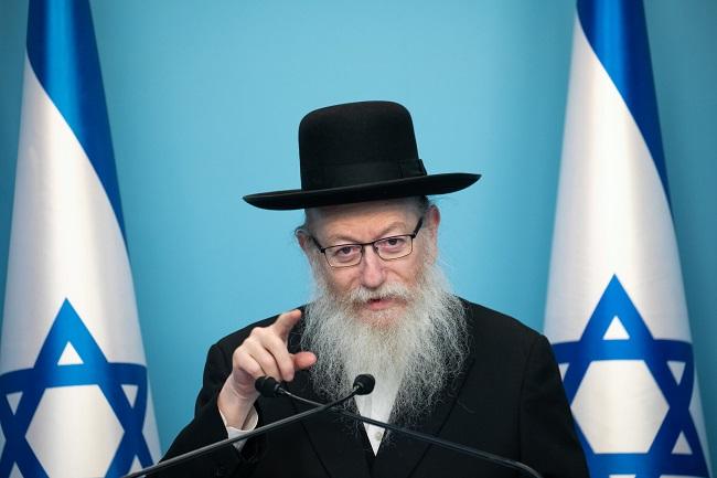ministro da saúde israel coronavírus