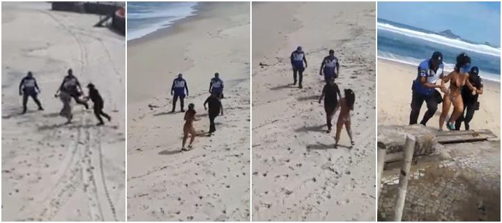 mulher detida rio de janeiro
