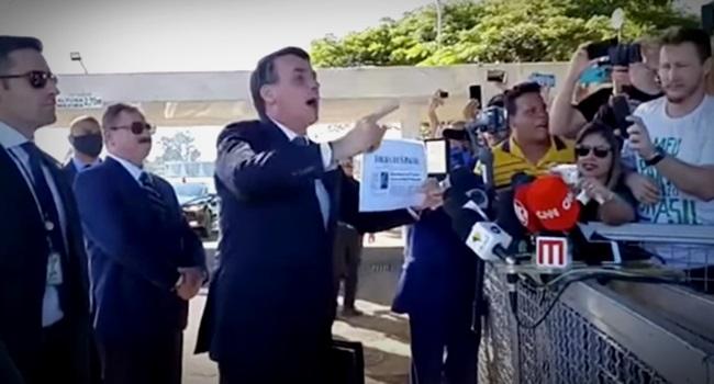 cala boca bolsonaro jornalistas folha globo mídia imprensa