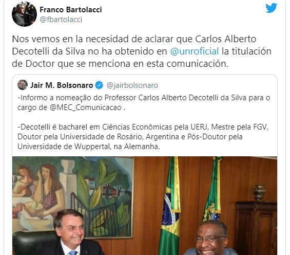 bolsonaro ministro doutor