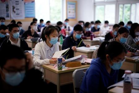 escolas china coronavírus