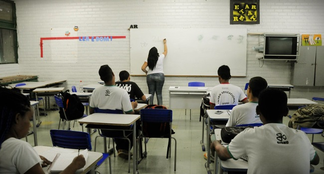 culpa professor educação básica brasil