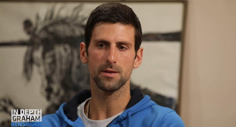 Novak Djokovic coronavírus