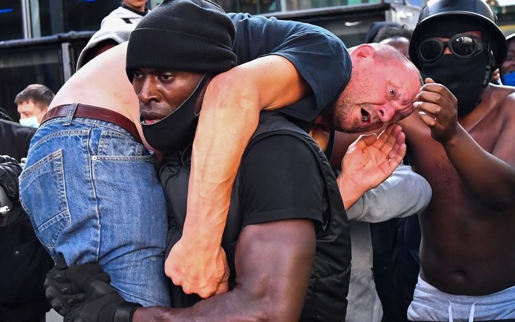 homem negro londres