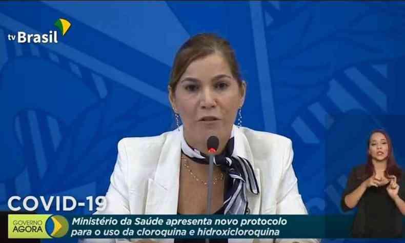 Mayra Pinheiro cloroquina