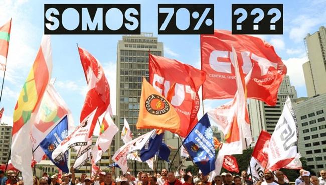 somos 70 contra bolsonaro manifestações esquerda direita