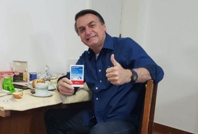 bolsonaro cloroquina