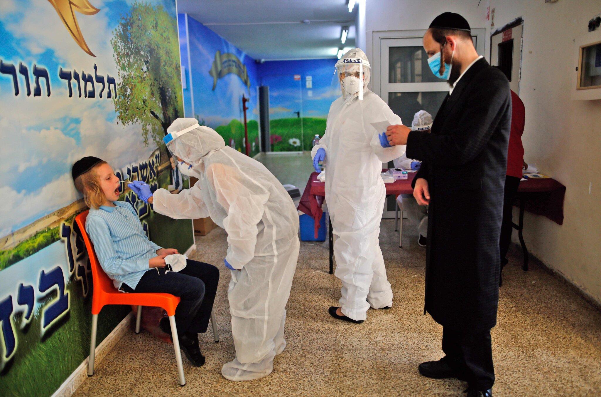 reabertura escolas israel