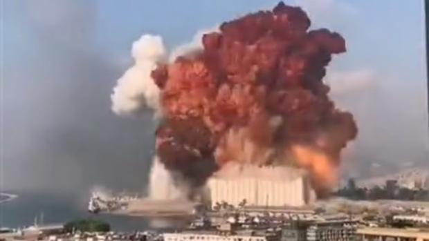 explosão beirute líbano