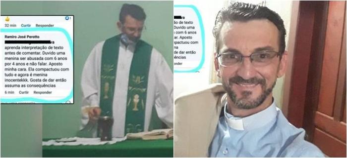 O padre Ramiro José Perotto