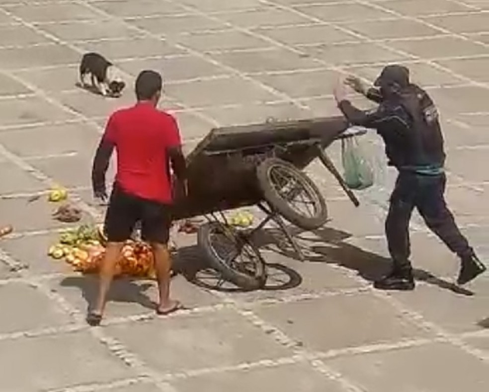 policial ambulante fortaleza