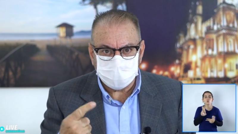 prefeito itajaí ozônio ânus covid