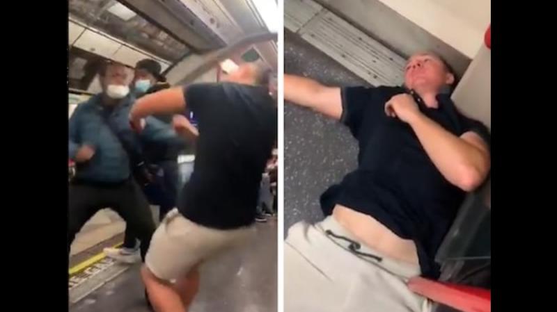 racista negro vagão metrô
