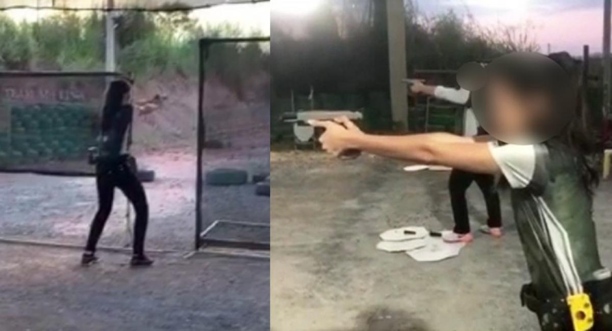 isabele guimarães disparo acidental