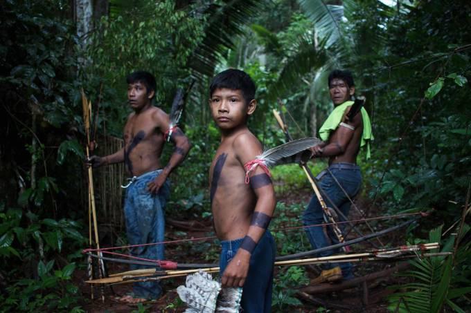 índios isolados flechada