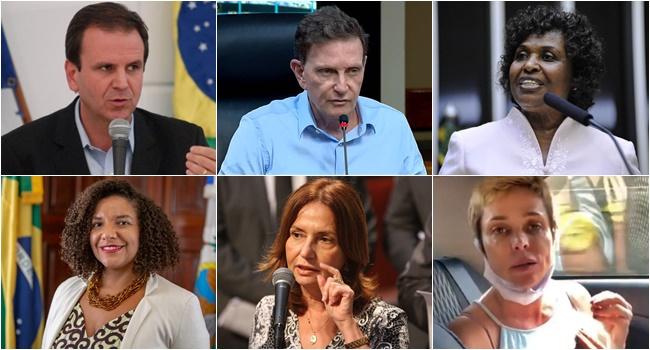 candidatos prefeito rio de janeiro