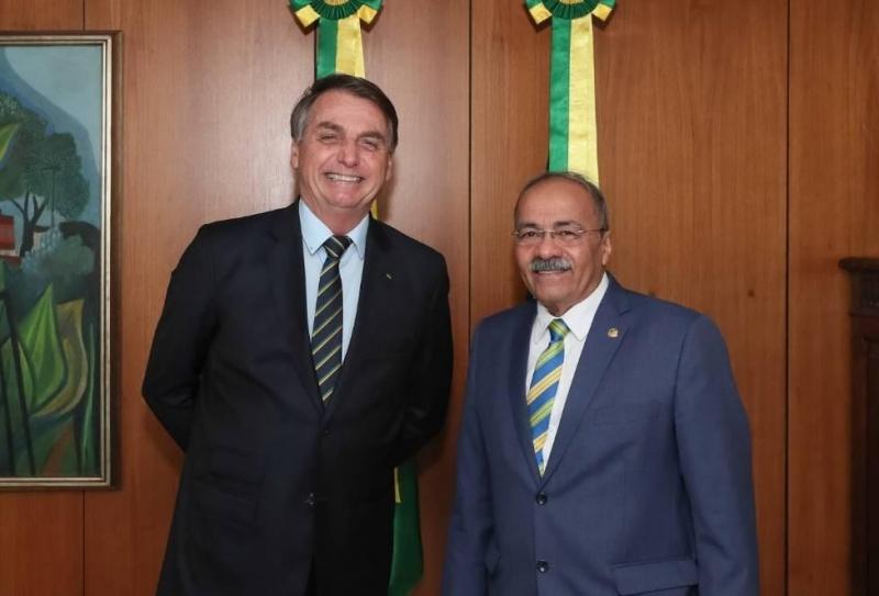 Bolsonaro e Chico Rodrigues