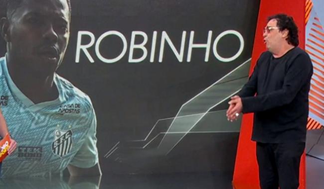 Casagrande ataca Caio Ribeiro Robinho enforca sozinho