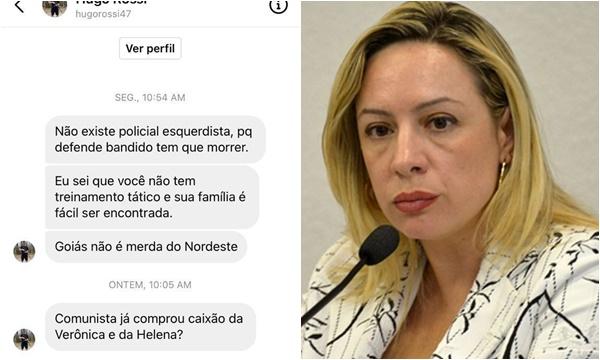 Adriana Accorsi ameaças