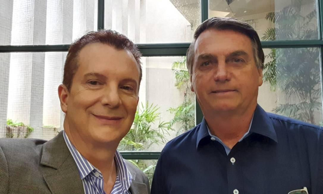 Russomanno e Bolsonaro