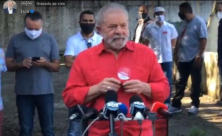 Lula PT eleições 2020