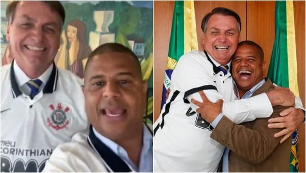 Marcelinho Carioca e Bolsonaro