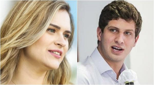 Marília Arraes e João Campos