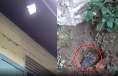 meteorito cai casa