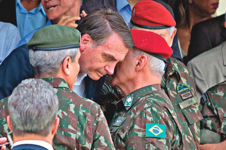 militares governo bolsonaro