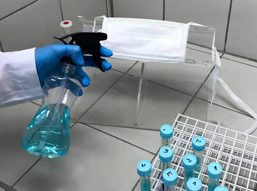 spray unicamp coronavírus