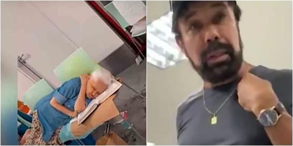 delegado pf humilha idosa brasilia