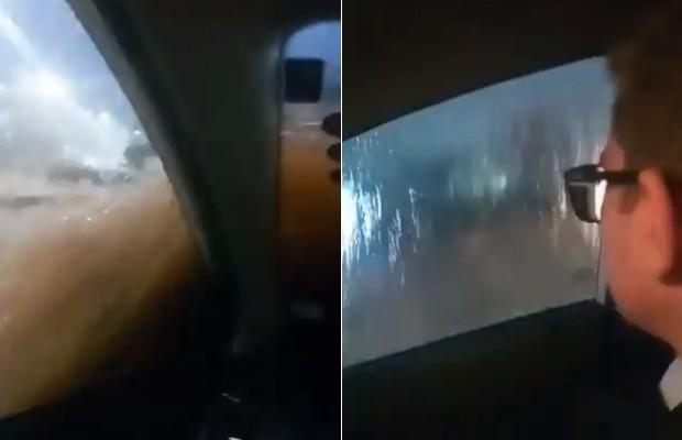 mineiro carro enchente uberlândia