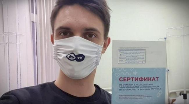 Jornalista toma a vacina russa e relata os efeitos colaterais sentiu rússia coronavírus