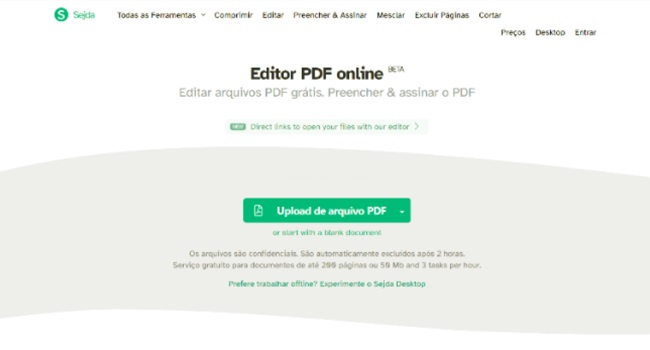 Top softwares para editar PDF online de 2020