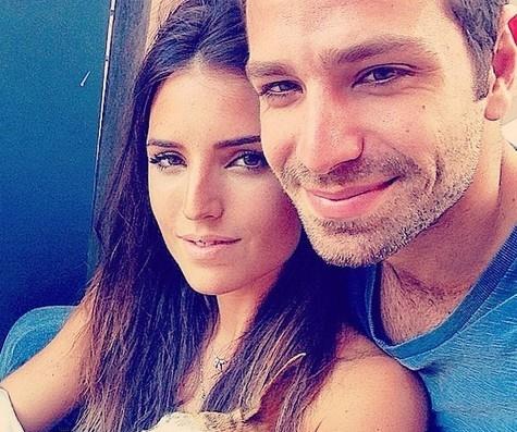 Jessica Aronis e João Gabriel Vasconcellos
